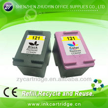 printers compatible ink cartridge for hp 121 (cc640h)