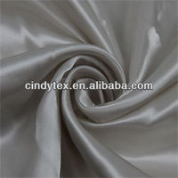50d drapery soft twill polyester lining fabric for clothing
