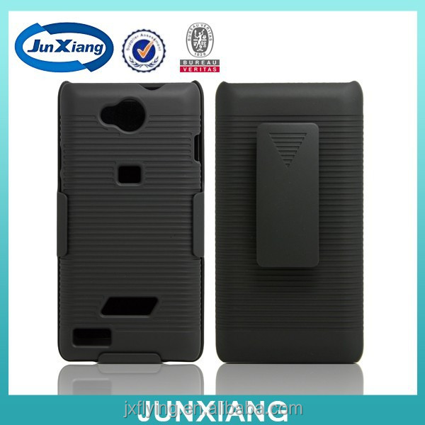alibaba plastic holster combo case for ZTE blade g lux new