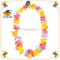 Wholesale promotional Hawaii flower necklace lei