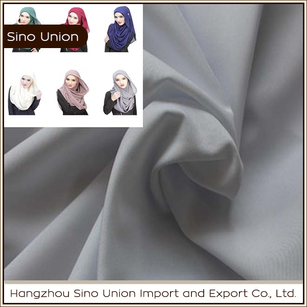 wholesale 100 polyester 300D mini matt fabric muslim clothing fabrics for burka robe