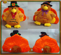 Plush Turkey Thanksgiving days Toy turkey plush stuffed toy