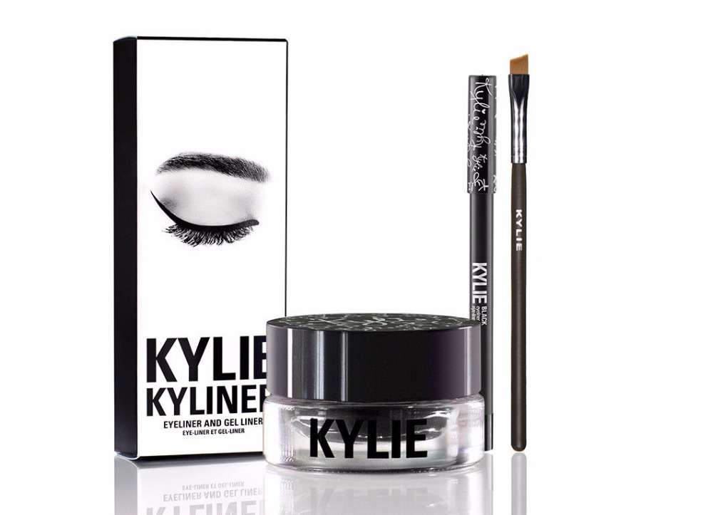 KYLIE Kyliner Black Eyeliner and Gel Liner Kit from Kylie Jenner Cosmetics