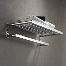 FARLO wall mounted brass bathroom towel racks