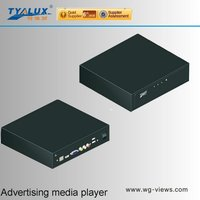 HD multimedia network advertising player