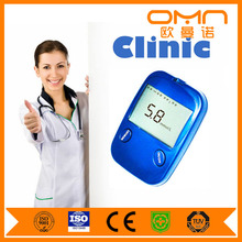 Digital One Touch Blood Glucose Meter for India with Accu-chek Active Test Strips for Test Cholesterol Blood Sugar Diabetes