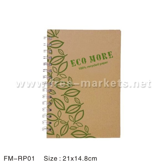 ECO friendly recycled paper pen pencil notebook school stationary