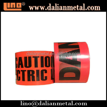 Factory Supply Underground underground cable warning tape