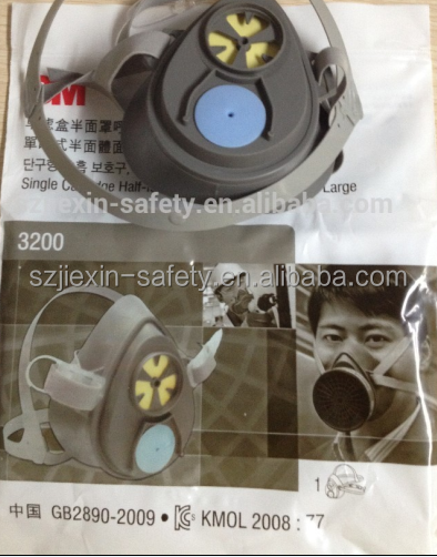 Industrial Respirator full face gas mask 3M 3200
