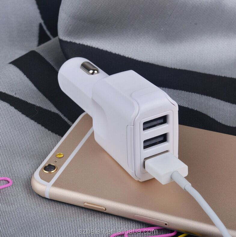 3-Port QC3.0 Usb Charger EU QC Usb Charger QC 3.0 Car Charger