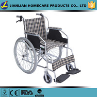 Health&medical lightweight aluminum folding wheelchair cheapest price JL869LXJ