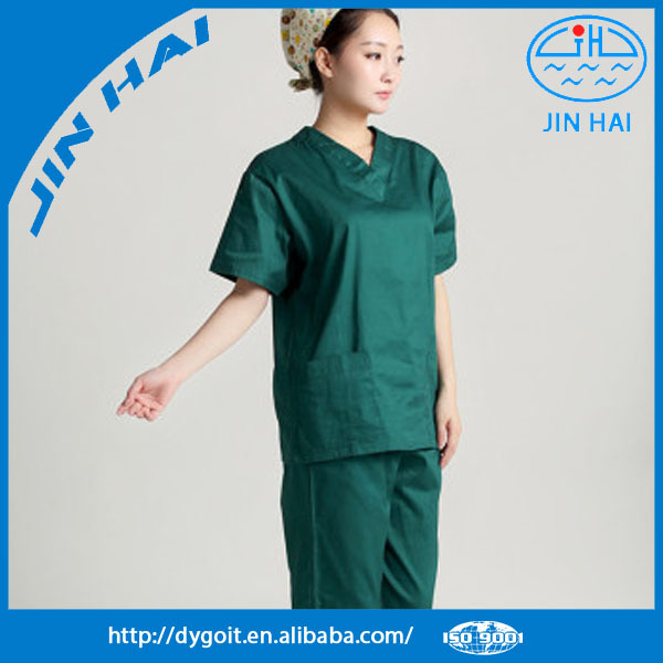 Medical scrub/Matin medical scrub suit/nurse hospital uniform