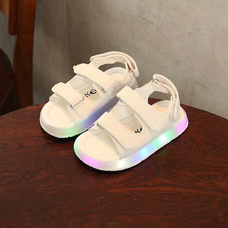 New Arrival fashion LED Kids Shoes kids <strong>Sandals</strong>