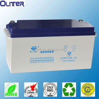 12v 120ah sealed maintenance free rechargeable lead acid battery