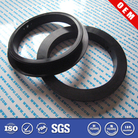 Custom plastic nylon or epdm flat face pipe flange gasket
