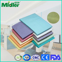 fold plastic dental bibs 4 ply polymer disposable high quality