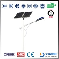 Factory price of 80w integrated solar street light solar led street lights