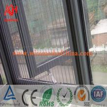 Professional brown pvc windows with CE certificate