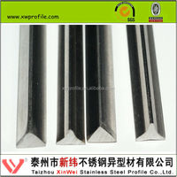 AISI 304 304L 316 316L Stainless steel triangular steel bar