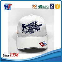 Golf white new design customized 6 panel baseball hat high quality caps and visors