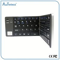 High quality OEM ultra-thin mini portable Bluetooth folding Keyboard 3.0 for Android Smart TV