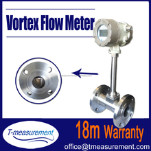 High Quality gas flow totalizer/chemical liquid flow meter /superheated steam vortex flow meter CE approved