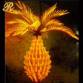 Newest Design Coconut pineapple Tree Led Light With Ce Rohs