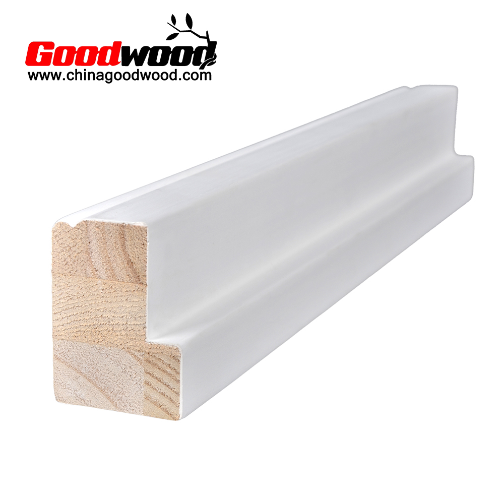 Primed Basswood Window Wood Shutter Components