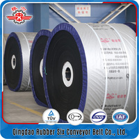 Big company abrasion-proof steel cord conveyor belt manufacturers