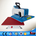 CE British manual shaking head sublimation clothes heat transfer machine