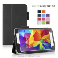 Folio PU Leather With Stand Case for Samsung Galaxy Tab 4 7.0 inch
