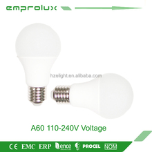 Modern a60 e27 led 220 degree