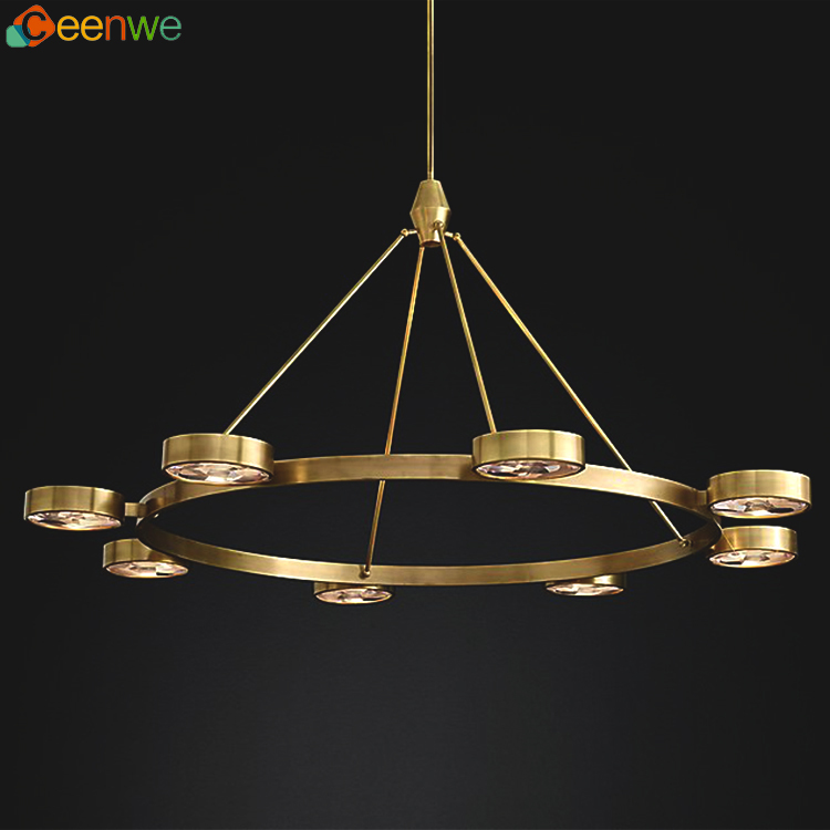 Ceenwe Lighting industry style chandelier clips contemporary led lighting fixture