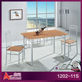 1202-11S modern dining room tables set 4 chairs