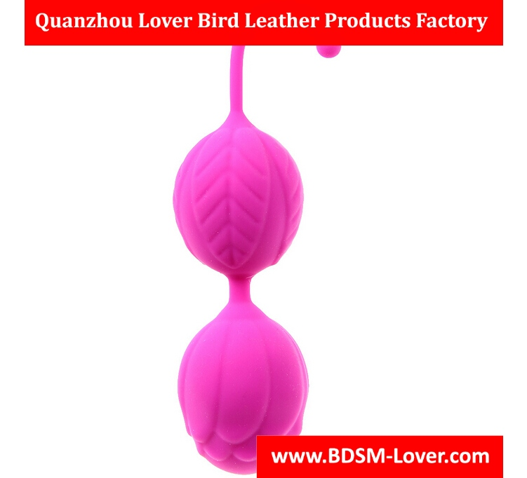 140*35mm Rose Women Silicone Smart Love Kegel Ball For Vaginal Tight Exercise Machine