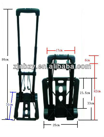 PLASTIC PORTABLE LUGGAGE CARRIER
