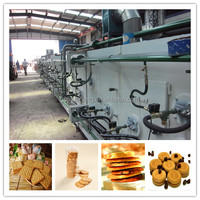automatic controlled gas/electric tunnel oven, best price of bakery machinery for making biscuit/cake/bread