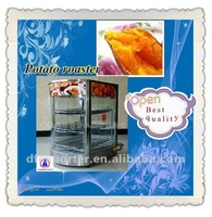 Mobile display case with heat preservation function
