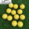 2 Pieces Golf Ball Yellow, Practice Golf Ball Customized by Fantom---432 Dimples