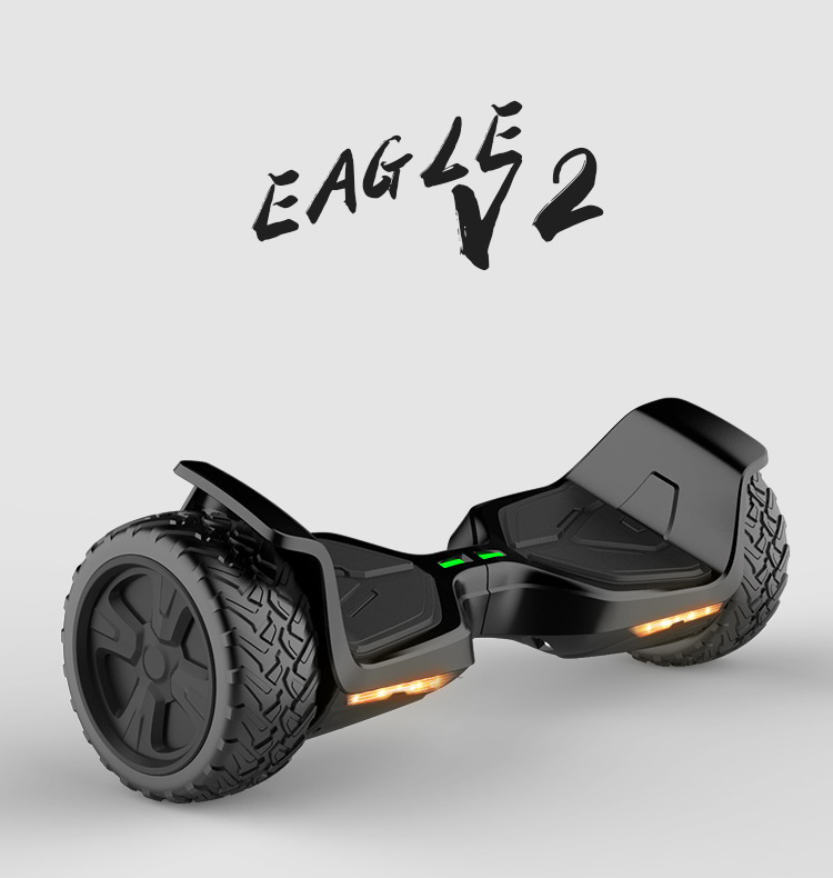 Tomoloo UL CE 8.5 inch fat tire2 Wheel Hoverboard With Bluetooth Balance Scooter off road version