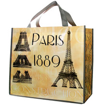 Eco-friendly pp nonwoven reusable shopping bag with handle