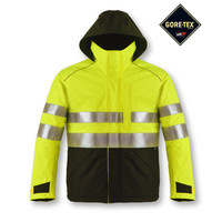High visibility Gore-tex waterproof softshell seam sealing jacket