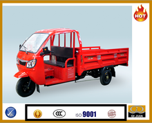 Semi-closed with windshield and doors passenger or cargo available 200cc 250 cc Cargo tricycle