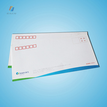 Custom size woodfree paper wallet envelopes with pvc window