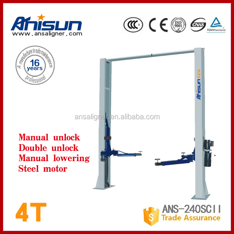 cheap auto lifts for garage equipments,4000kg