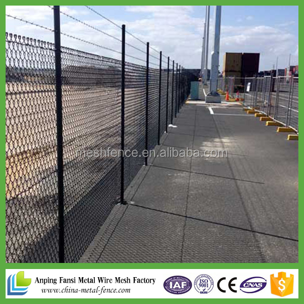Alibaba shopping diamond steel 1.8m chain link fence
