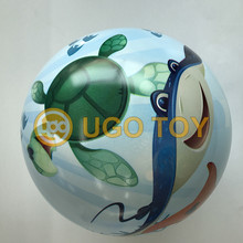 PVC full printed ball vinyle 360 degree bouncing play inflatable toys high quality customized