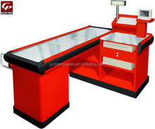 Fashion Design Supermarket Shop Cash Counter Table Checkout