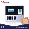 CE certified wall mounted standalone fingerprint time attendance system