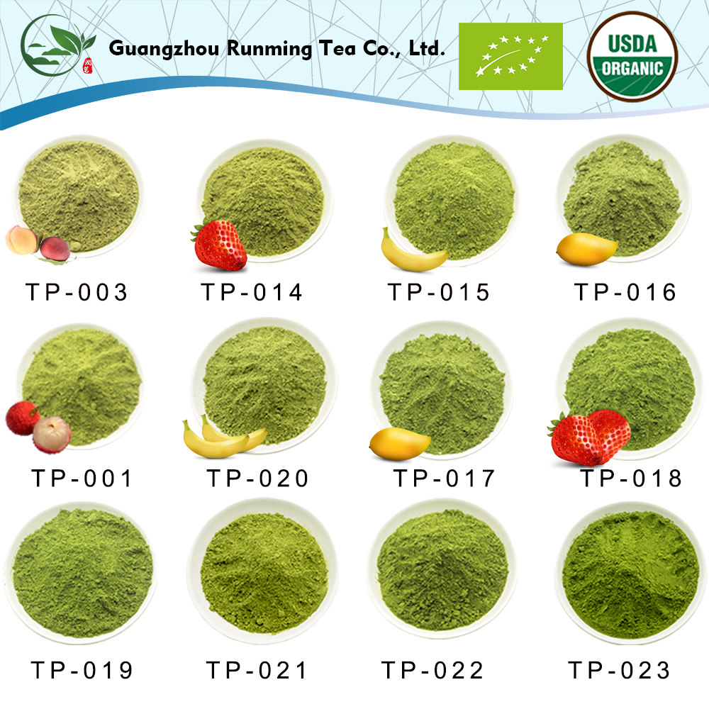 100% Pure Popular Cooking Grade Wholesale Organic Matcha Tea/Matcha Green Tea Powder For Traditional Stone Milled